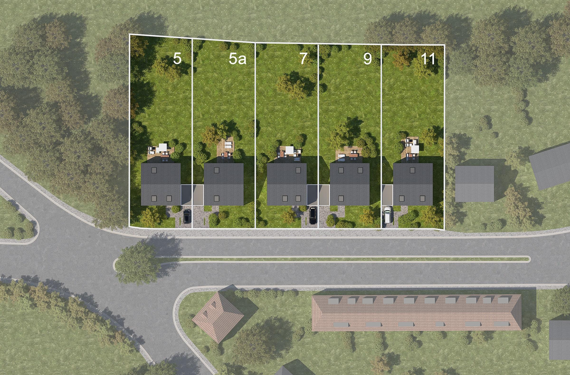 Bebauungsplan Grundstück Velbert Burgfeldpark