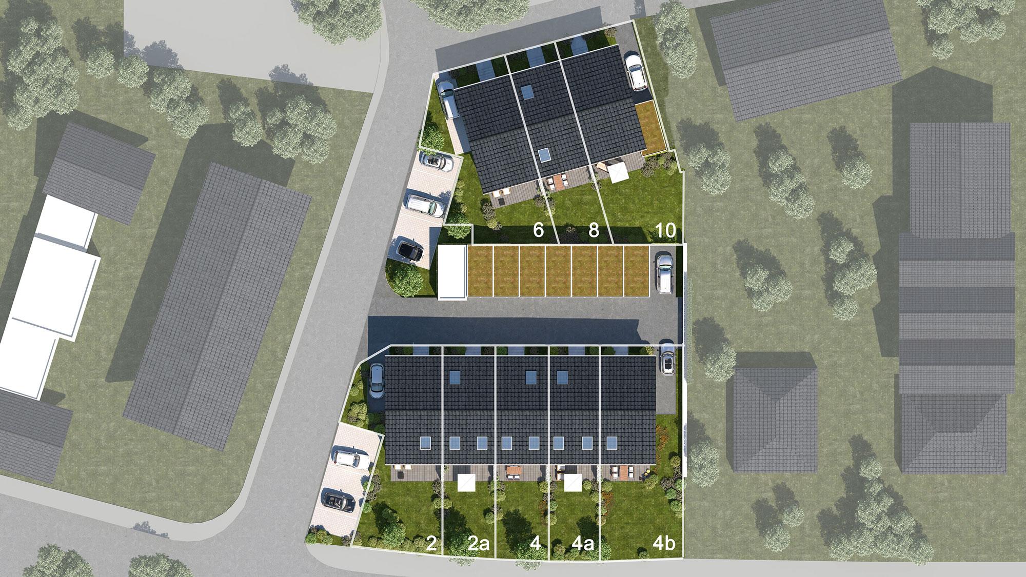 WOBAU Bauvorhaben Siepen Lageplan